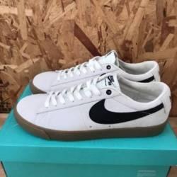 Nike sb blazer low gt ivory bl...