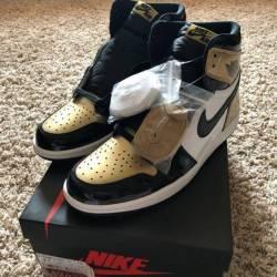 """Jordan retro 1 og """"gold toe"""""""