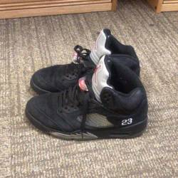 Air jordan 5 black metallic 2011
