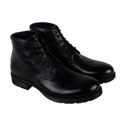 Aquatalia harvey mens black le...