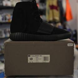 Yeezy 750 boost triple black a...