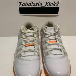 Air jordan 11 low gs - citrus
