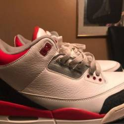 Air jordan 3 - fire red 2013