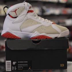 Jordan 7 hare men's pre owned