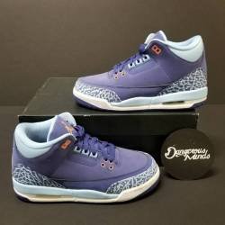 "Air jordan 3 retro ""purple dust"""