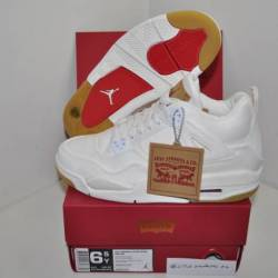 Nike air jordan 4 retro white ...