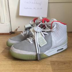 Nike air yeezy 2 wolf grey / p...