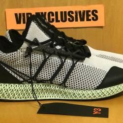Adidas y-3 runner 4d black whi...
