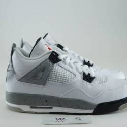 Air jordan 4 retro og bg white...