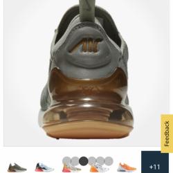 Nike air max 270 metallic
