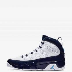 Air jordan 9 retro unc w recei...