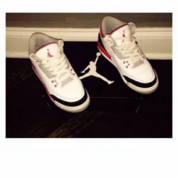 Air jordan fire red 3 (gs)