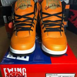 100% authentic ewing rookie of...