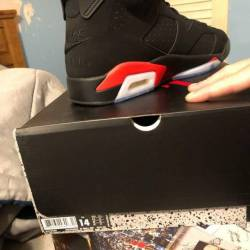 Air jordan 6 black infrared og...