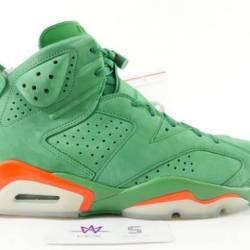 Air jordan 6 retro nrg g8rd green