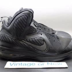 Nike lebron ix 9 black gs sz 7y