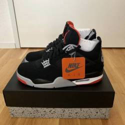 Air jordan 4 og bred 2019 men ...