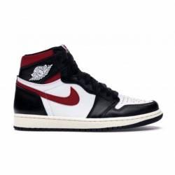 Jordan 1 - black/gym red
