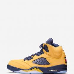 Air jordan 5 retro amarillo na...