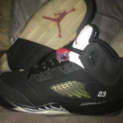 Jordan 5 black metallic 2011 s...