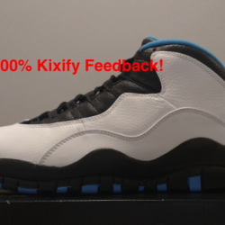 Air jordan 10 powder