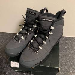 Air jordan retro 9 charcoal grey