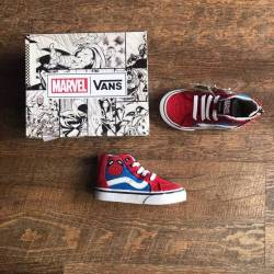 New marvel vans spiderman red ...