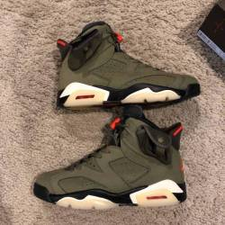 Travis scott x air jordan 6 me...