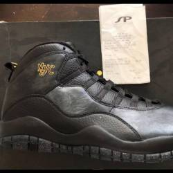 Jordan 10 'new york city'