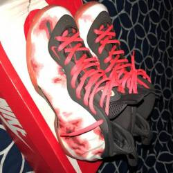 Nike mens air foamposite one prm