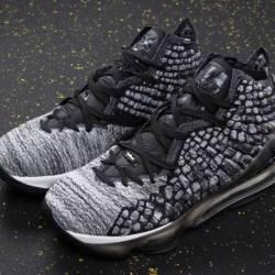 Nike lebron 17 black black whi...