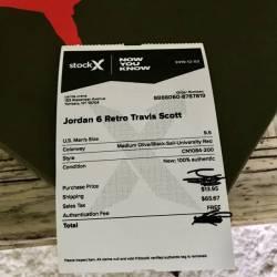 Jordan 6 travis scott