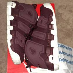 Nike air more uptempo - maroon