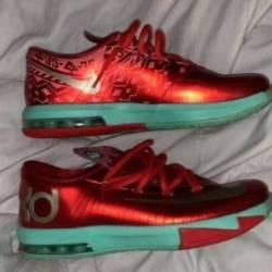 Nike kd 6 - christmas