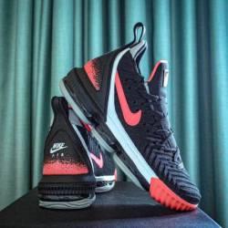 Nike lebron 16 hot lava black