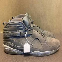 Nike air jordan 8 cool grey re...