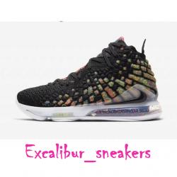 Nike lebron 17 james gang bq31...