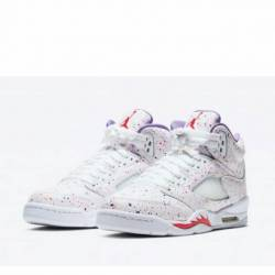 Air jordan 5 retro easter whit...