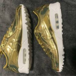 Nike wmns air max 90 metallic ...