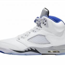 Air Jordan 5 White ...