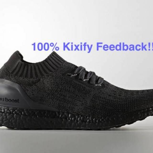 30db5a654 Adidas Ultra Boost Uncaged Triple black BA7996