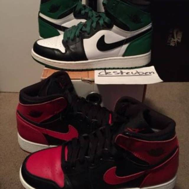 finest selection 33cff 01b16 Air Jordan 1 DMP Defining Moments Pack 60+ Bred Celtic 6y 6 Youth OG Banned    Kixify Marketplace