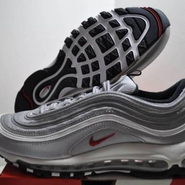 Nike Air Max 97 Silver Bullet Womens Size 8.5 Us 6 Uk 4