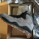 Air Jordan Retro 10 Cool Gray/Infrared