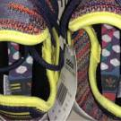 Adidas Pharrell Human Race NMD AC7360 US Size 11.5 Multi-Color Noble Ink Yellow