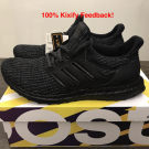Adidas Ultra Boost Triple Black 4.0
