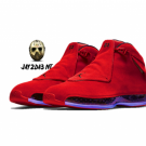 NIKE AIR JORDAN XVIII (18) TORO RAGING BULL RED (AA2494-601)