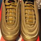 Nike Air Max 97 Metallic Gold Women's