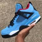 "Air Jordan Retro 4 ""Cactus Jack"""