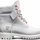 """AUTHENTIC Timberland 6"""" Inch Classic Boots White Serpent Youth A1PKX100 sz Y"""